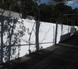 日本平動物園 アドフラット仮囲い