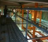 サッポロビール工場内 単管細工足場