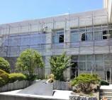 静岡市 枠組足場工事 高校